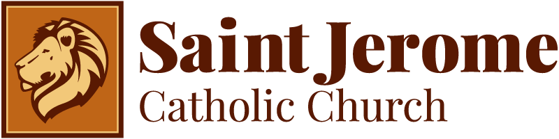 Saint Jerome Catholic Church Logo